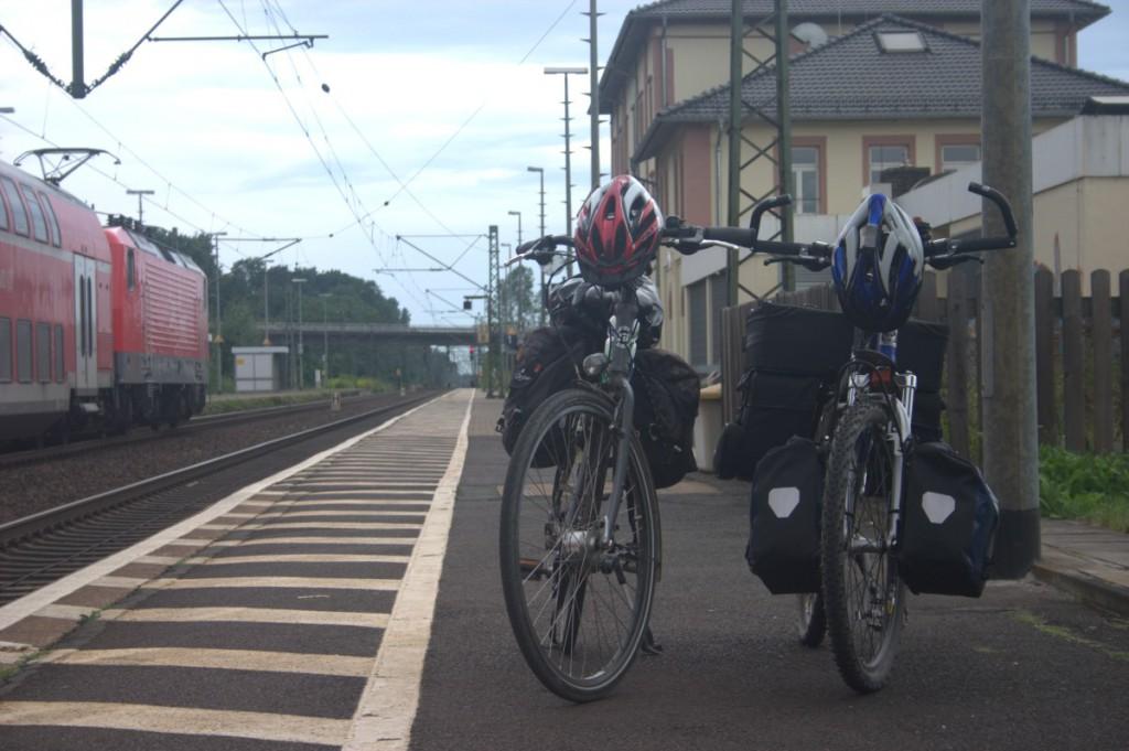 2 Räder auf großer Fahrt