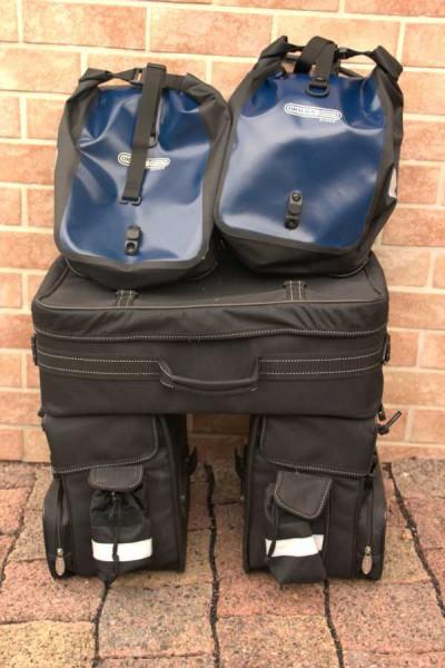 Die Packtaschen